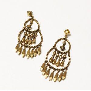 Stella & Dot • Gold Reverie Earrings